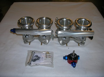 TWM Borla DCOE throttle bodies